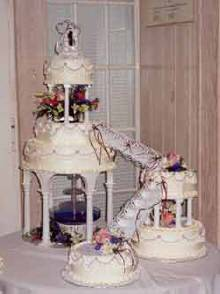 bahamas, weddings, cakes